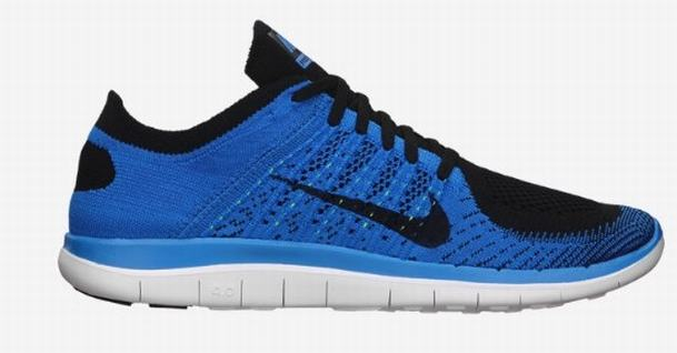 blue nike trainers